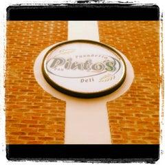 Photo taken at Pinto's Deli by Manuel Alirio R. on 3/31/2012
