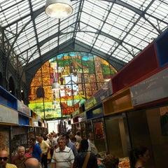 Photo taken at Mercado de Atarazanas by Raul s. on 6/12/2012