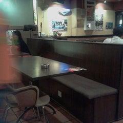 Photo taken at Station 1 Café by Casper L. on 9/13/2012