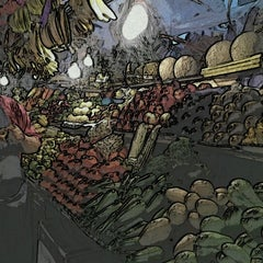 Photo taken at Mercado de Santa Tere by Irma D. on 7/28/2012