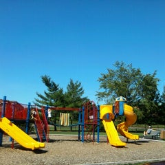 Photo taken at Portage Creek Bicentennial Park by Jenny V. on 9/11/2012