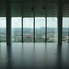 Photo taken at Penthouse, Twin Conference, Vienna Twin Towers by Christoph T. on 8/6/2011