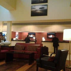 Photo taken at Newark Liberty International Airport Marriott by Ryan M. on 2/15/2012