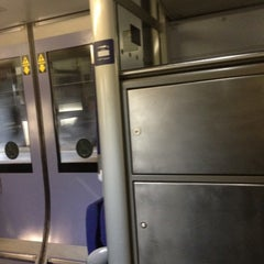 Photo taken at Heathrow Express Train - Paddington [PAD] to Heathrow [HXX] by Anna B. on 4/16/2012