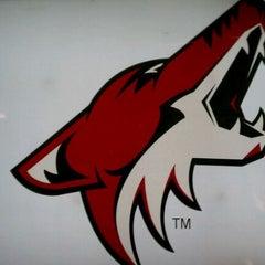 Das Foto wurde bei Gila River Arena von Rich M. am 3/26/2012 aufgenommen