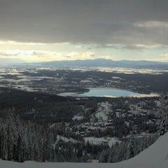 Photo taken at Whitefish Mountain Resort by Anthony B. on 1/22/2012