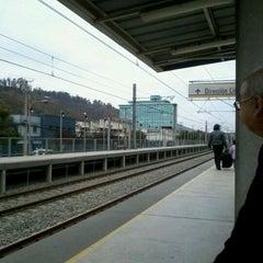 Photo taken at Metro Valparaiso - Estación El Salto by Geneviève V. on 4/20/2012