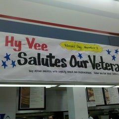 Photo taken at Hy-Vee by Amanda I. on 11/11/2011