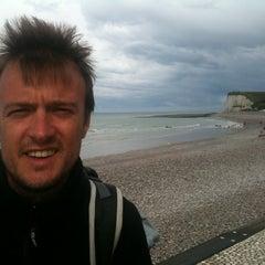 Photo taken at Veulettes sur mer by Laurent G. on 8/26/2011