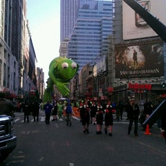 Photo taken at Macy's Parade & Entertainment Group by Jesse F. on 11/24/2011