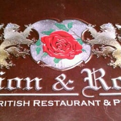 Photo taken at The Lion & Rose British Restaurant & Pub by Cindy S. on 3/5/2012