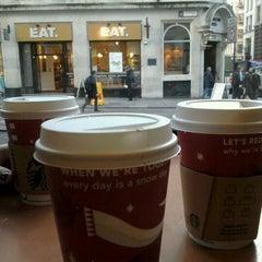 Photo taken at Starbucks by Cla on 1/19/2012