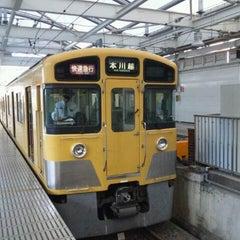 Photo taken at 西武新宿駅 (Seibu-Shinjuku Sta.) (SS01) by Pochi ぽ. on 10/26/2011