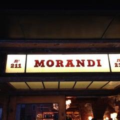 Photo taken at Morandi by Bonnie R. on 4/18/2012