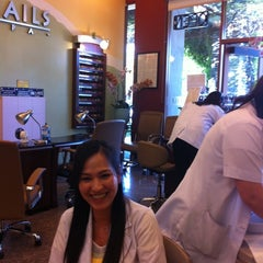 Photo taken at Happy Nails by Lauren S. on 6/3/2011