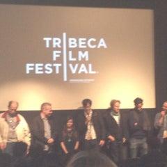 Photo taken at Tribeca Cinemas by Debbie on 4/30/2012