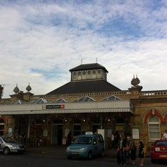 Photo taken at Lewes Railway Station (LWS) by Chris C. on 9/1/2012
