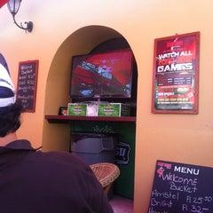 Photo taken at The Sopranos Piano Bar by Otilio V. on 5/19/2012