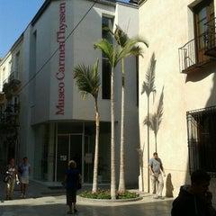 Photo taken at Museo Carmen Thyssen Málaga by Pedro P. on 10/21/2011