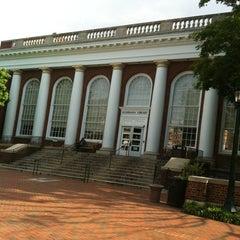 Photo taken at Alderman Library by Adam F. on 5/2/2012
