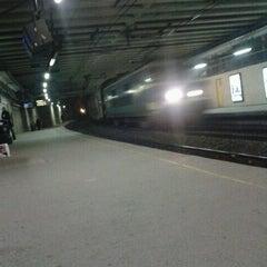 Photo taken at Gare de Bruxelles-Schuman / Station Brussel-Schuman by Natacha V. on 11/7/2011