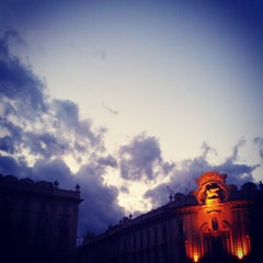 Photo taken at Piazza Solferino by Alessio P. on 7/22/2012