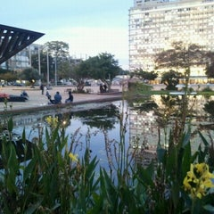 Photo taken at Rabin Square (כיכר רבין) by Yuval B. on 11/27/2011