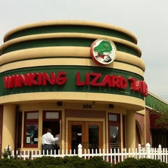 Photo taken at Winking Lizard Tavern by Karen P. on 4/15/2011