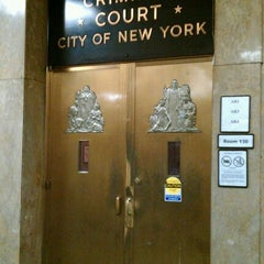 Photo taken at New York City Criminal Court by Michael M. on 12/8/2011