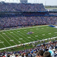 Photo taken at Ralph Wilson Stadium by Bill Y. on 9/25/2011