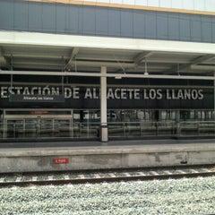 Photo taken at Estación de Albacete-Los Llanos by Vicky T. on 6/9/2012