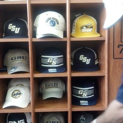Photo taken at Georgia Southern Bookstore by Denise Y. on 9/1/2012