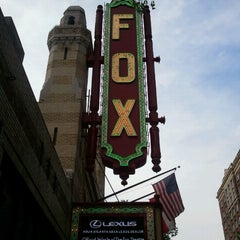 Photo taken at The Fox Theatre by Omar A. on 6/14/2012