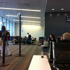 Photo taken at Gate B50 by Nate E. on 5/14/2011