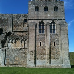 Photo taken at Castle Rising Castle by Deb H. on 7/1/2011