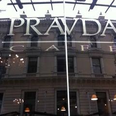Photo taken at Pravda Café by Barbara T. on 3/11/2011