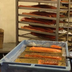 Photo taken at Acme Smoked Fish by Mons on 3/9/2012