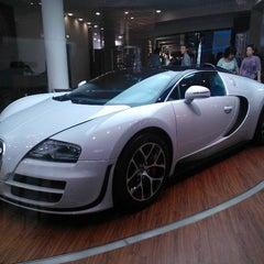 Photo taken at Bugatti | Automobil Forum Unter den Linden by Juha R. on 9/4/2012