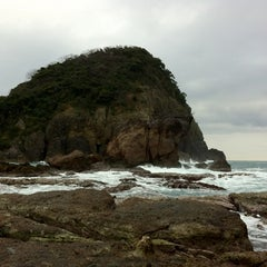 Photo taken at 今子浦 by pirokichi0819 on 1/21/2012