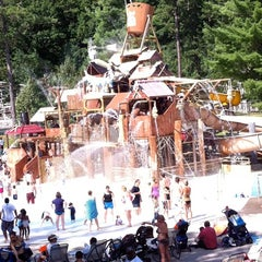 Photo taken at The Great Escape & Splashwater Kingdom by Mary K. on 8/30/2011