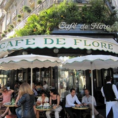 Photo taken at Café de Flore by Jiny K. on 2/5/2012