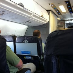 Photo taken at AirTran flt 135    ATL-TPA by Greg C. on 9/11/2011