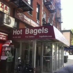Photo taken at Bagel Bob's on York by Arthur H. on 4/18/2012