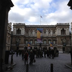 Photo taken at Royal Academy of Arts by London L. on 3/10/2012