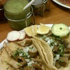 Photo taken at Taqueria El Sabor Del Parque by Naptown . on 1/12/2012
