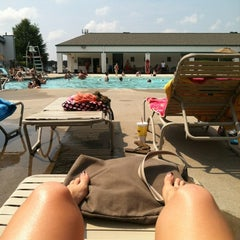 Photo taken at Fitness Connection Pool by Victoria D. on 6/23/2012