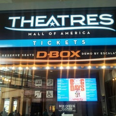 Photo taken at Theatres at Mall of America by Jeremiah V. on 8/11/2012