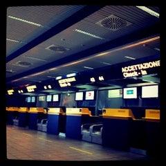 """Photo taken at Aeroporto di Orio al Serio """"Il Caravaggio"""" (BGY) by Giuseppe M. on 8/18/2011"""