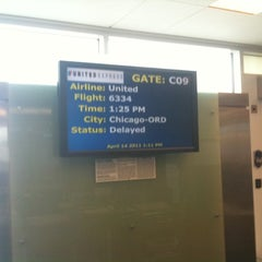 Photo taken at Gate C9 by Tim S. on 4/14/2011