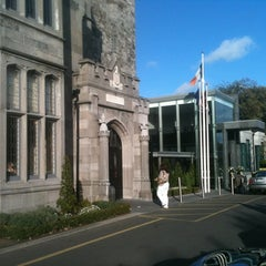Photo taken at Clontarf Castle Hotel by Pat D. on 9/17/2011